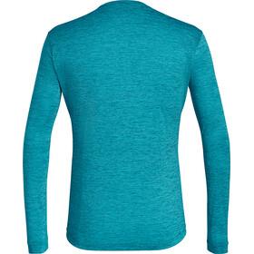 Salewa Puez Melange Dry Camiseta de manga larga Hombre, ocean melange